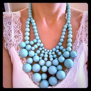 NWOT BaubleBar Turquoise Bauble Bib